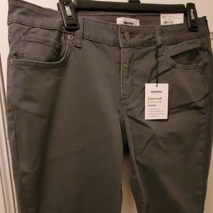 NWT soft gray jeans